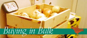 buying in bulk house living