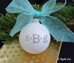 easy diy monogrammed ornaments 11 magnolia