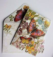 punch studio set of 5 gold foil blank note cards w env flowers