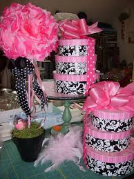 Baby Shower Table Decoration by Baby Shower Table Decorations For Babypink Shower