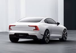 volvo electric car polestar 1 shows off electric performance future cars co za