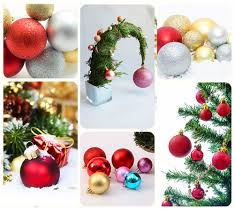 christmas ornaments balls dark blue xmas tree hanging baubles