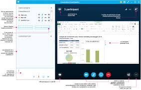 skype pour bureau skype entreprise appels messagerie et réunions en ligne