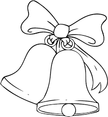 christmas bells coloring pictures u2013 christmas wishes