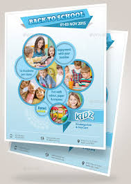 21 sdaycare flyers psd vector eps jpg download