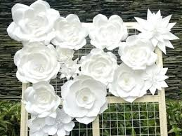 How To Make Wedding Decorations How To Make Paper Flowers For A Wedding Paper Flowers Wedding