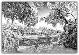 famous pencil drawings nature drawing sketch library