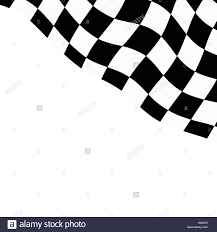 Checker Flag Racing Background With Checkered Flag Vector Illustration Eps10
