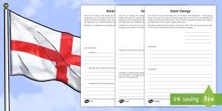 ks2 st george u0027s day persuasive letter differentiated activity