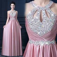 party dresses alimida satin evening dress 2017 beading prom dresses