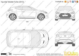 turbocad drawing template the blueprints vector drawing hyundai veloster turbo
