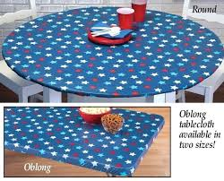 elastic tablecloths for rectangular tables round elastic tablecloth fabulous blue round fitted and elasticized
