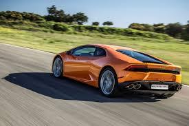 Lamborghini Huracan Back View - 2016 lamborghini huracan orange hd desktop wallpaper magnificent