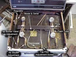 whirlpool oven pilot light american a c appliance