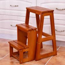 kitchen step stool chair