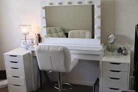 vanity set with lights white ikea makeup vanity set with lighting and leather chair vanity