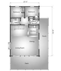 kodiak log cabin plan by katahdin cedar log homes