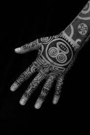 Finger Tribal - tribal tattoos that inspire
