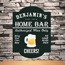 personalized classic tavern bar signs u2022 commercial bar designers
