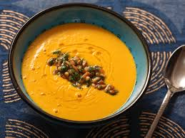 spicy carrot and soup with harissa recipe serious eats