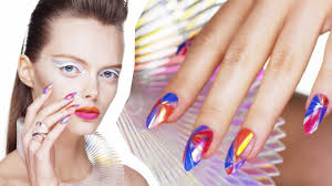 new wave light show nail art youtube