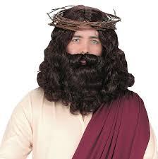 mens halloween wigs jesus wigs u0026 beards realistic lace front wig