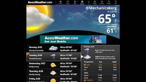 accuweather android app accuweather for sony tablet p android apps on play