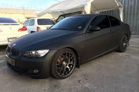 matte black bmw 328i e92 matte black m310 3