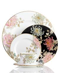 marchesa by lenox dinnerware painted camellia collection fine