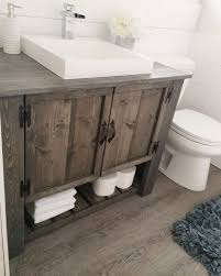 Diy Rustic Bathroom Vanity Astonishing Bathroom Canities 2 The Diy Rustic Vanity Cabinet