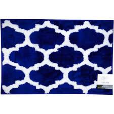 Navy And White Bath Rug Amazing Blue Excellent Awesome Royal Blue Bathroom Rugs Royal Blue