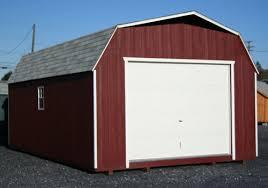 Barn Style Garages Garages And Carports Miller U0027s Storage Buildings