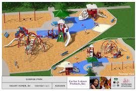 community u0026 neighborhood parks village of mt horeb