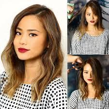 jamie chung u0027s hair color tips popsugar beauty