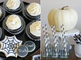 Halloween Home Decor Catalogs by Black And White Halloween Dessert Table U2013 Glorious Treats