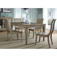 liberty furniture grayton grove 7 piece upholstered dining table