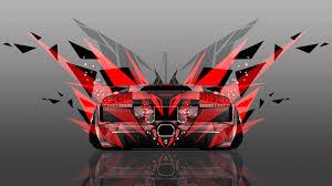 Lamborghini Murcielago Red - 4k lamborghini murcielago back abstract transformer car 2014 el tony