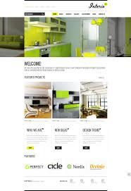 interior design website template 40040