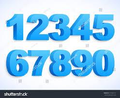 set vector numbers 1 0 eps stock vector 371970151 shutterstock