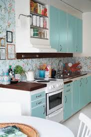 cuisine bleu ciel cuisines cuisine en bleu ciel moderne vintage meme temps papier