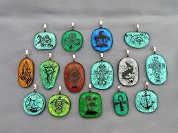 glass necklace pendants images Glass pendants glass pendant necklaces jpg