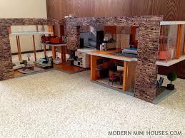 Modern Doll House Furniture by 50 Best Modern Dollhouse Images On Pinterest Modern Dollhouse