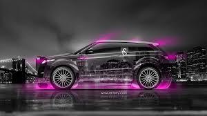 land rover pink land rover evoque crystal city car 2014 el tony