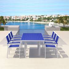 Swimming Pool Furniture by Polywood Euro Collection Modern Outdoor Furniture Aluminum