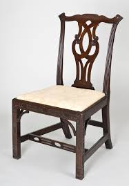 Chinese Chippendale Chair by Antique Side Chairs Georgian Chinese Chippendale Side Chair