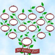 tree templates for children
