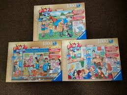 jigsaw quote game what if jigsaw puzzles x 3 in sunderland tyne and wear gumtree