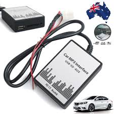 nissan almera usb not supported car usb sd mp3 adapter aux 3 5mm interface audio adapter for