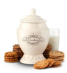 fashioned cookie jar with two dozen cookies cookie gift