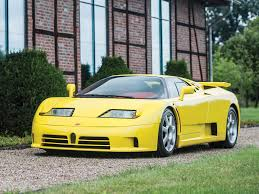 yellow bugatti bugatti eb110 super sport to be auctioned at rm sotheby u0027s in